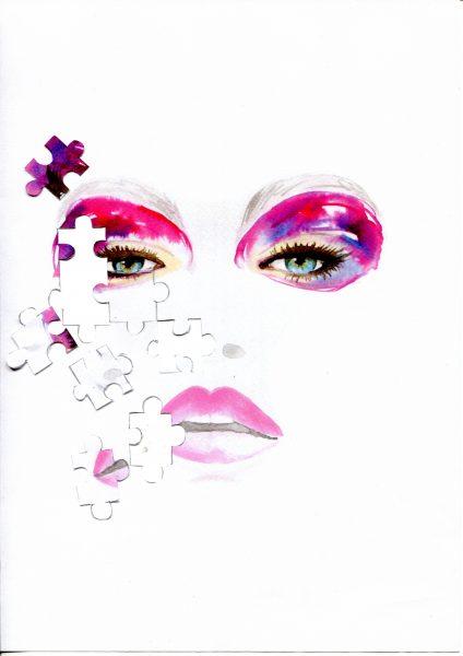 Gigi Hadid Puzzle face