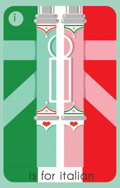 I is for Italian