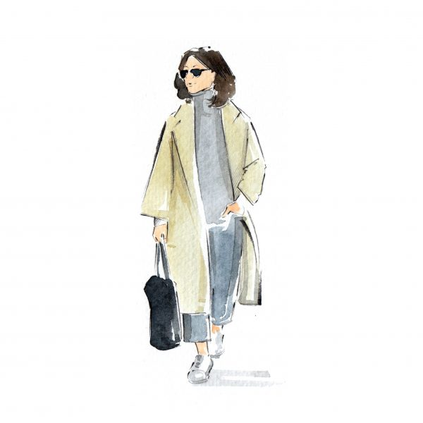 Street Style Fashion Illustration