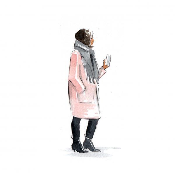 Street Style Fashion Illustration