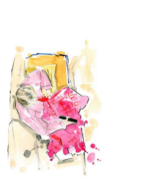 Molly Goddard Fashion Illustration