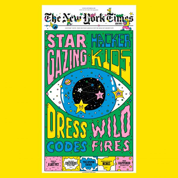 NYT For Kids // Cover