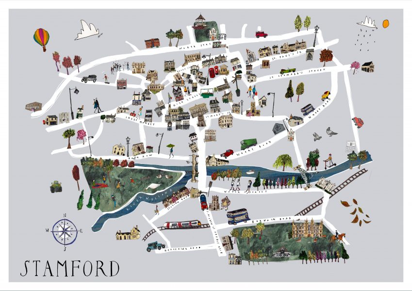Stamford map 19 march grey