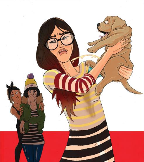 Puppy Pee - TOTP - BBC Magazines