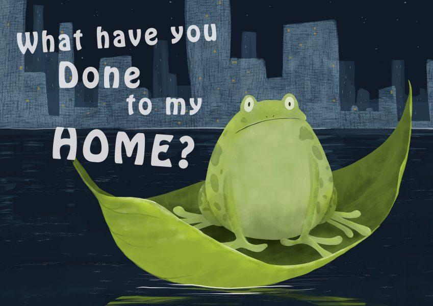 Frog habitat loss