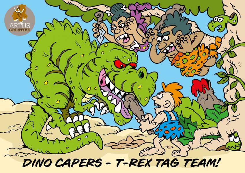 Dino Caper - Tag Team