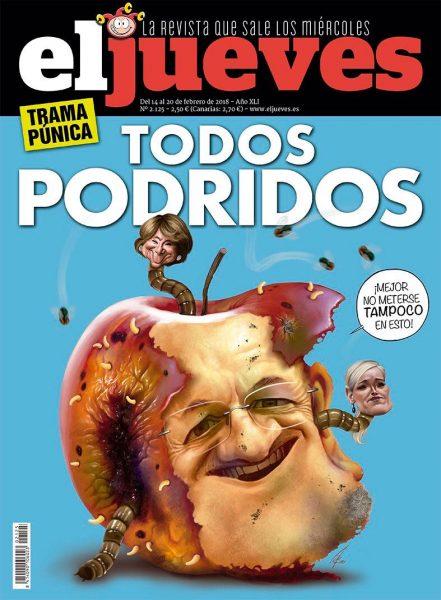 El Jueves magazine cover