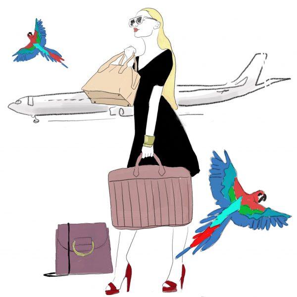 Black Dress & Travelling