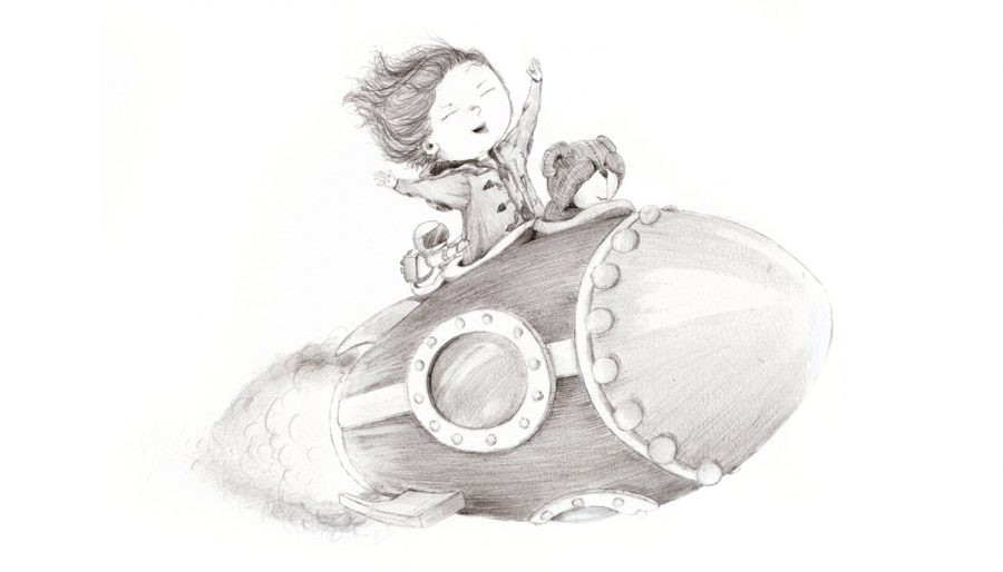 Amy rocket sketch