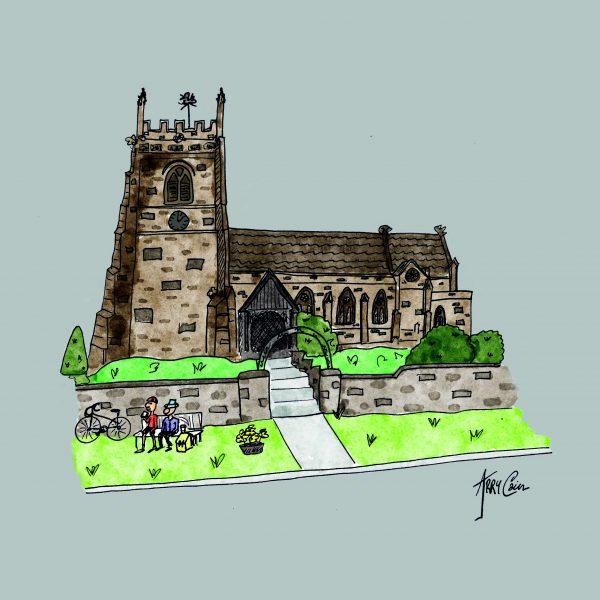 Cheswardine Church