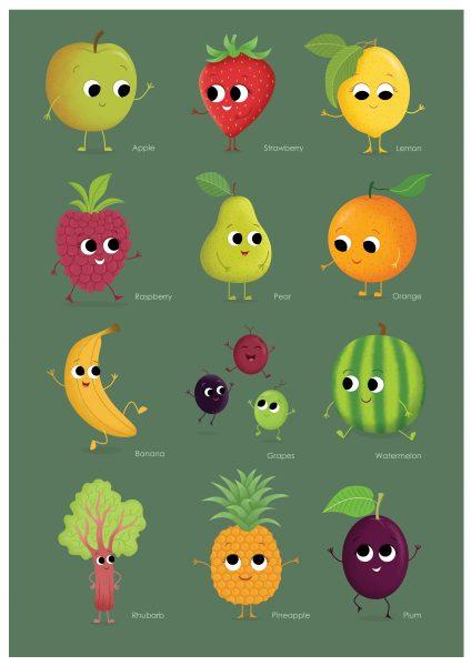 FruitKidsPoster