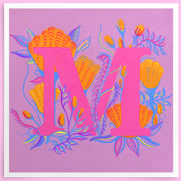 M Initial Painting