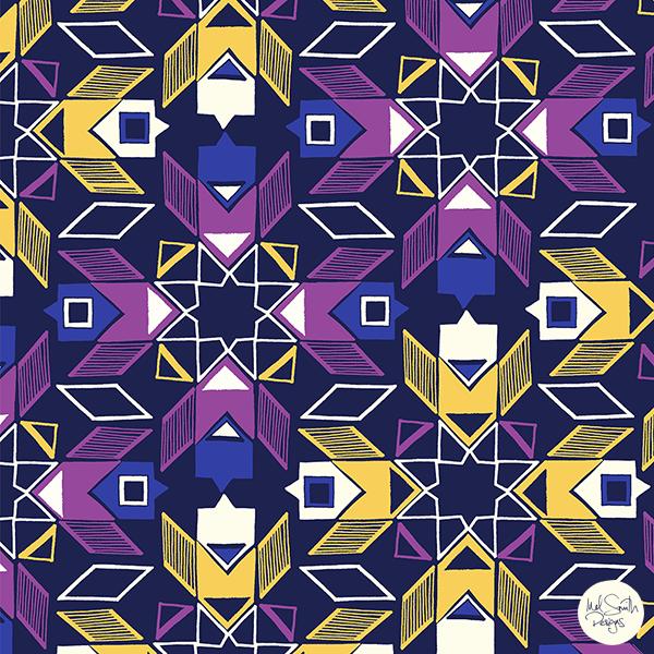 Moroccan Tiles by Mel Smith Designs