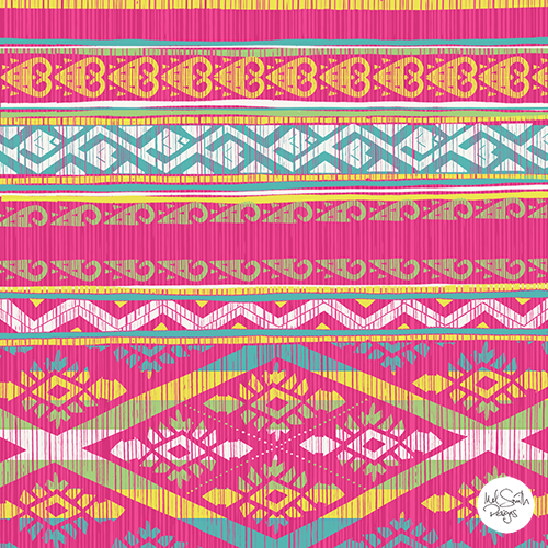 Peruvian Pattern by Mel Smith Designs