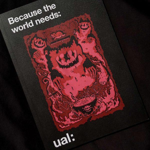 UAL 2021/22 Prospectus Cover