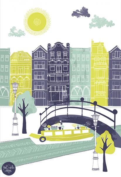 Amsterdam by Mel Smith Designs