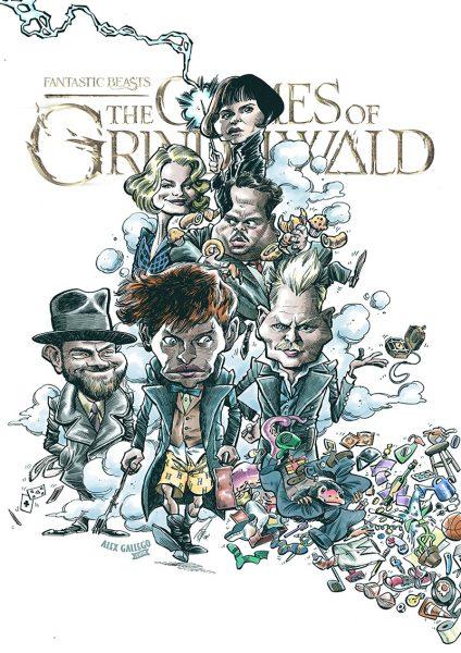Grindelwald Parody poster