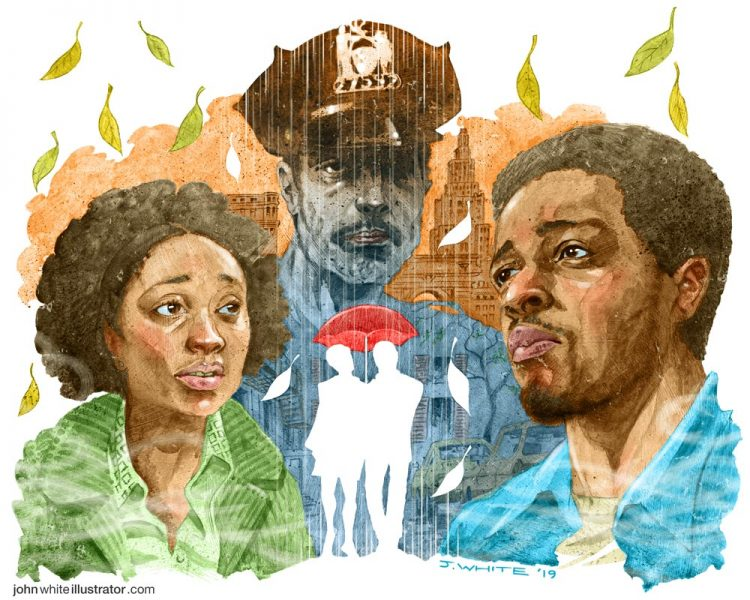 'If Beale Street Could Talk' movie review illustration