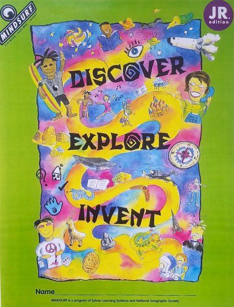 Discover Explore Invent brochure cover