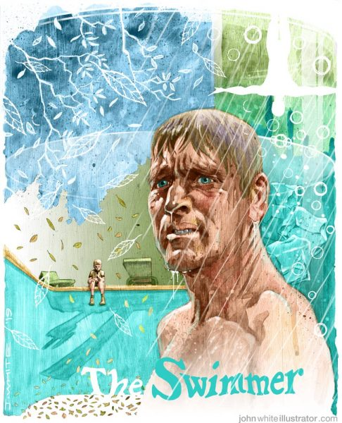 movie illustration the swimmer 1968 burt lancaster frank perry