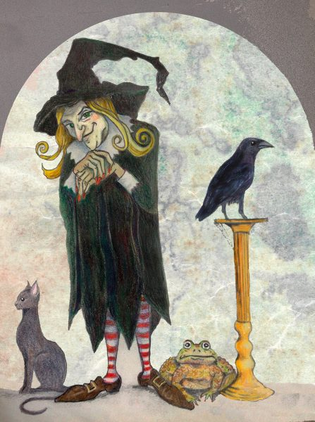 Witch and her familiars