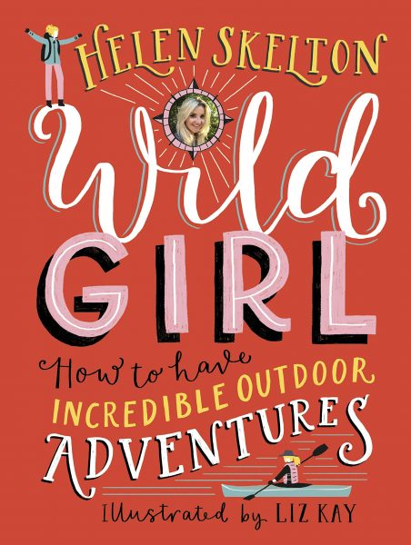 Wild Girl by Helen Skelton cover design