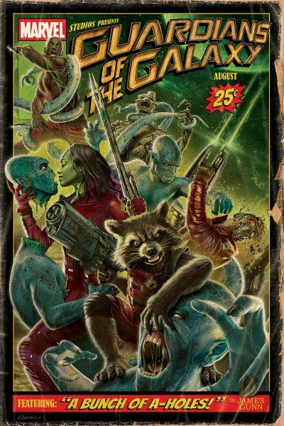 Guardians vintage poster
