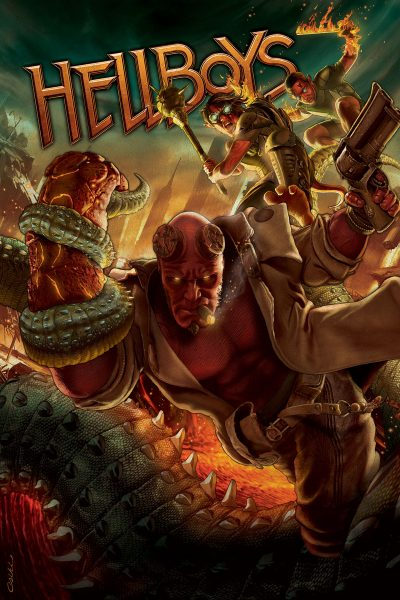 Hellboys cover