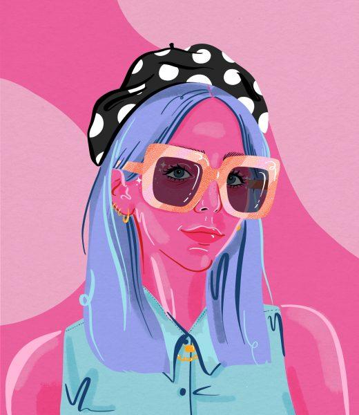Scarlett Curtis Illustration by Jasmine Hortop
