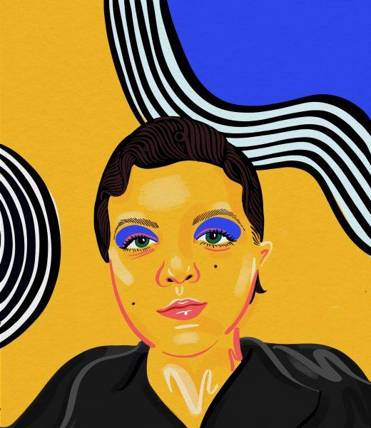 Sinead Burke illustration by Jasmine Hortop