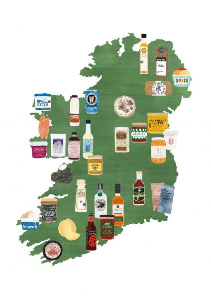 Map Irish Artisan Producers