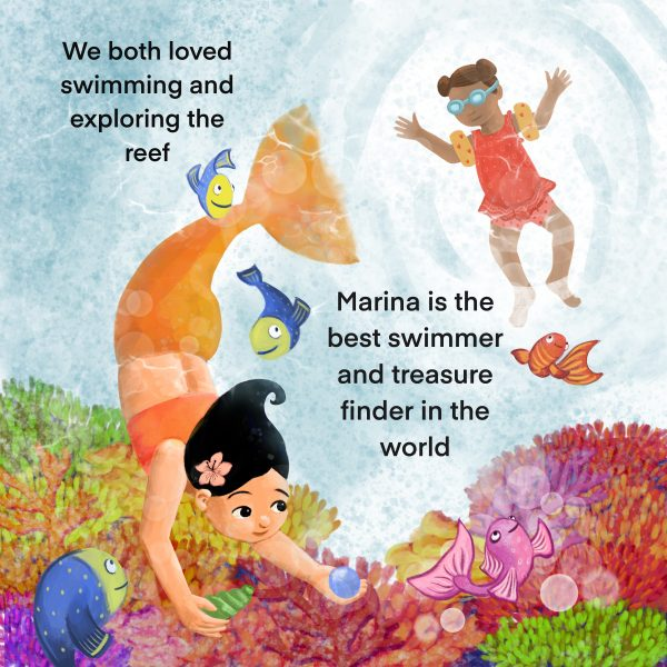 The Other Side of The Ocean - Written and Illustrated by Gabriella Vagnoli