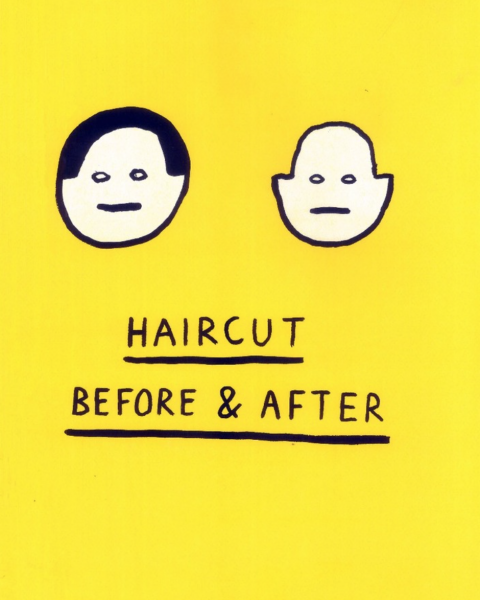 Haircut: Before and After