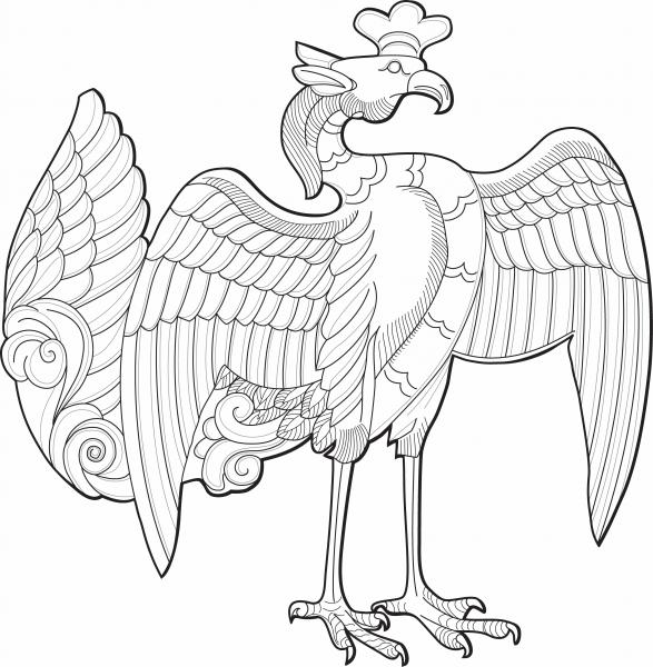 Phoenix - digital illustration