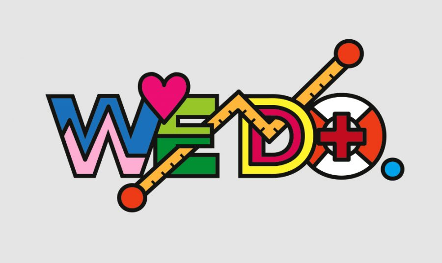 WEDO. logo illustration