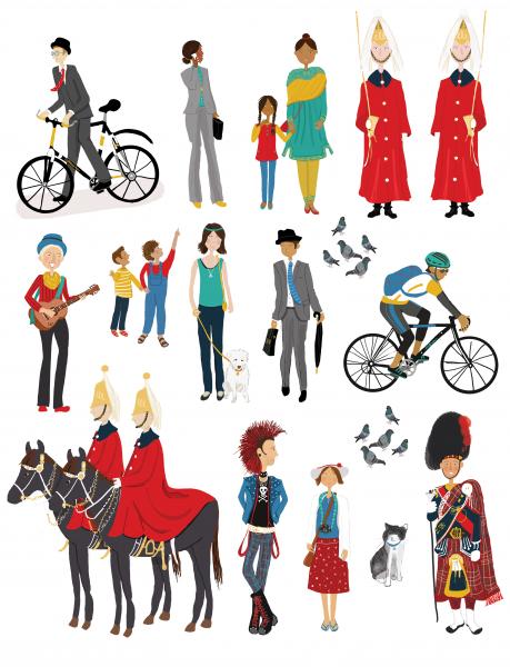london-characters