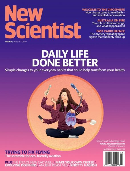 Daily life done better - New Scientist cover