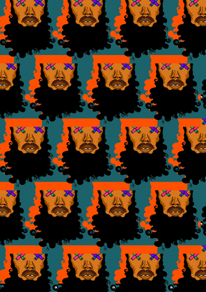 6th Advert - Beard Guy Wallpaper'' PNG