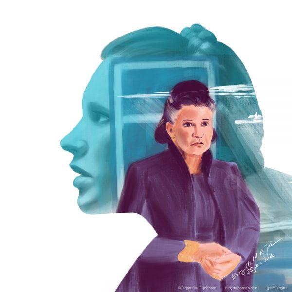 Princess and General Leia