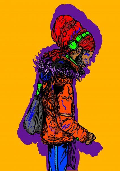 Rasta Character outline colour edit 4