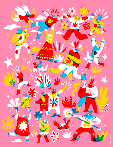Besando Poster Design
