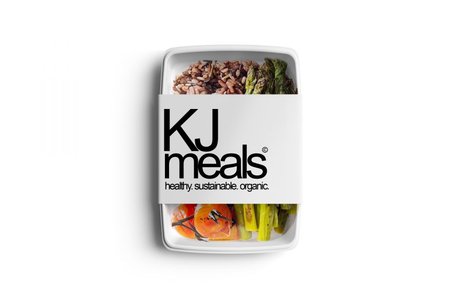 KJ Meals packaging design