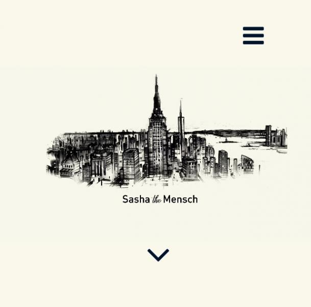 Sasha the Mensch