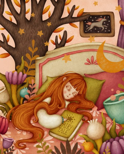Good Night - Children's Book Illustration