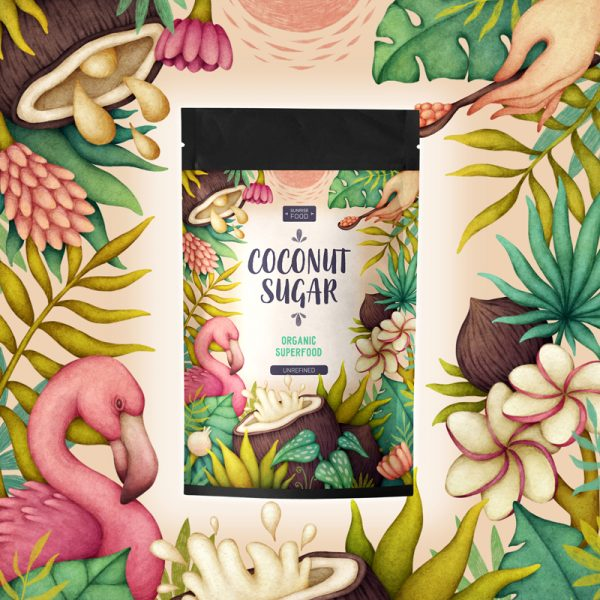 Coconut Sugar Packaging