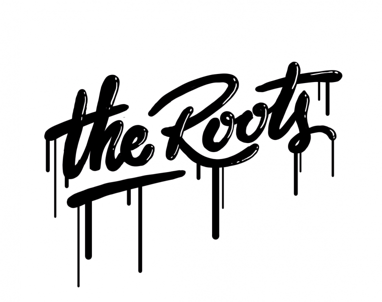The Roots lettering