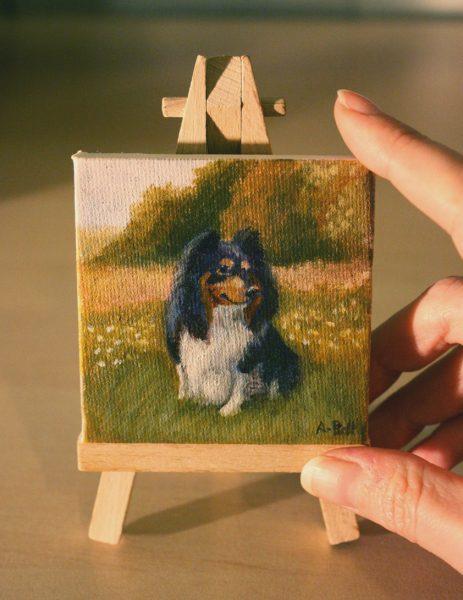 Charlie Mini Oil Portrait
