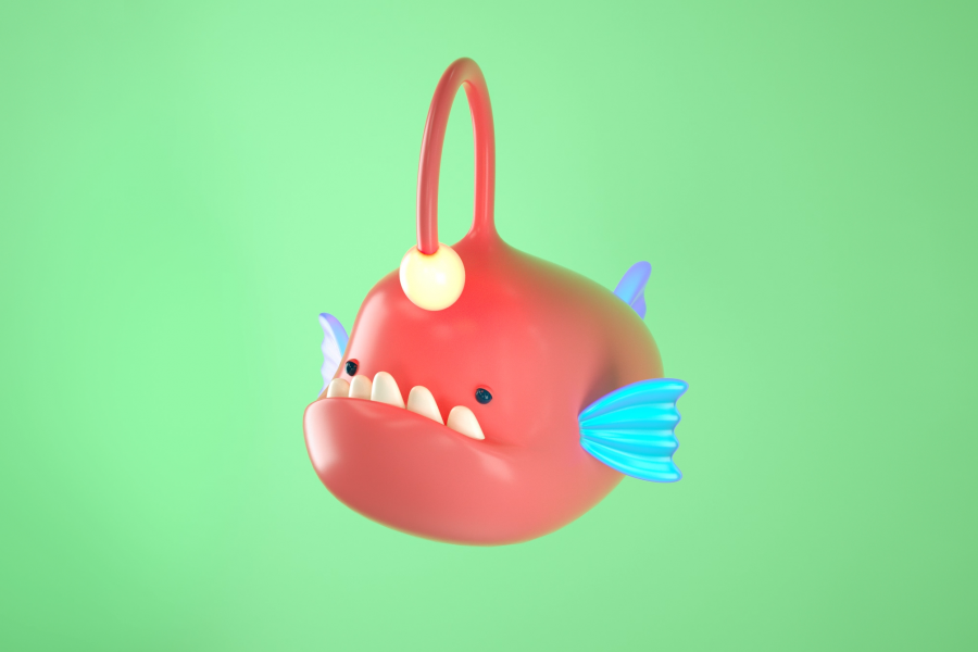 Cute Angler Fish