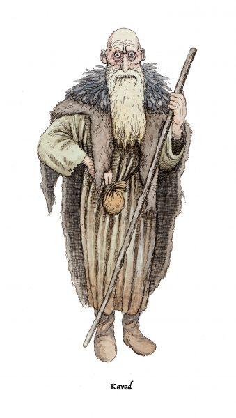 Ancient Irish Druid