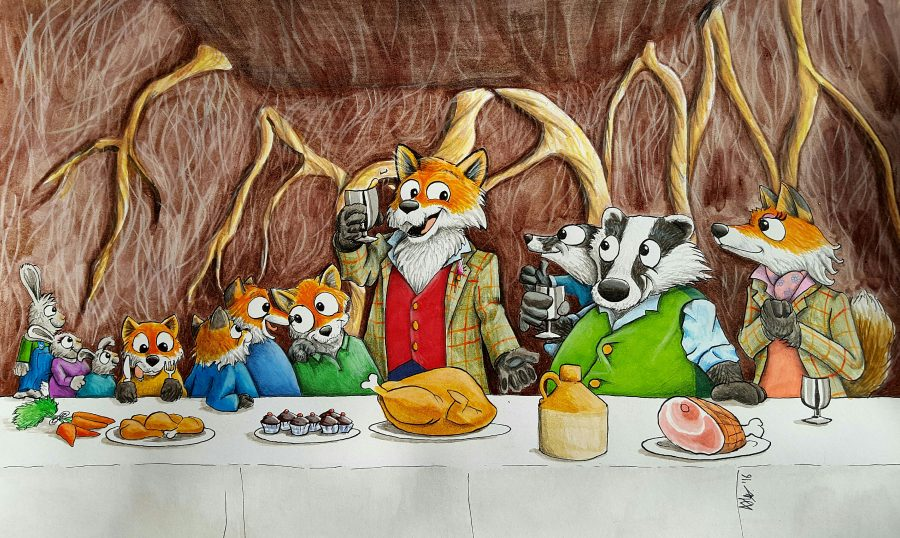 Fantastic Mr Fox - 'The first supper'